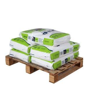 Pallet granulair zout 5 zakken 25 kg