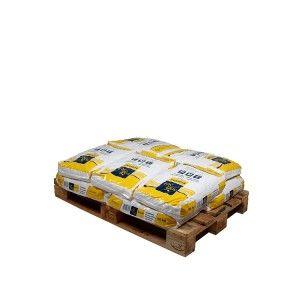 Pallet kussenvormige zouttabletten 10 zakken 25 kg