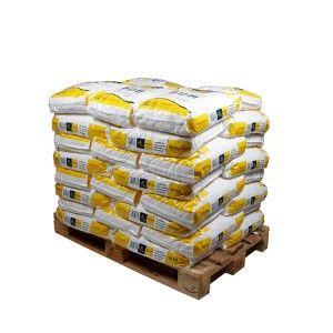 Pallet kussenvormige zouttabletten 40 zakken 25 kg