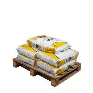 Pallet kussenvormige zouttabletten 5 zakken 25 kg