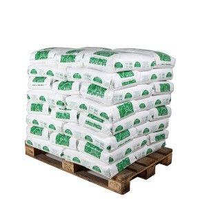 Pallet middelgrof landbouwzout 40 zakken 25 kg