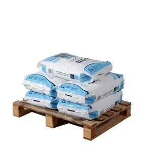 Pallet Zoutkristallen 5 zakken 25 kg
